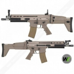 WE SCAR L GAS BLOW BACK MK-L GBBR Tan