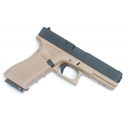 KJW GLOCK 17 TAN GAS