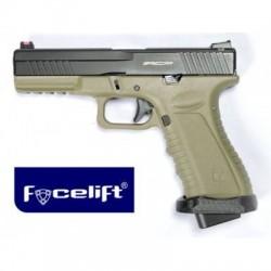 Pistola Action Combat Pistol Facelift Tan ACP601D-FL APS