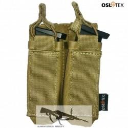 OSLOTEX Portacargador Doble Pistola Coyote
