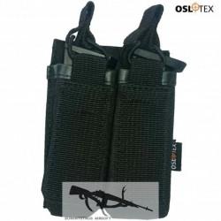 OSLOTEX Portacargador Doble Pistola BK