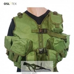 OSLOTEX Chaleco AK FISHER OD