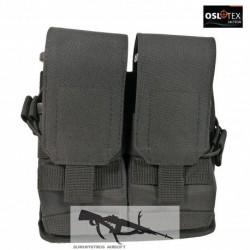 OSLOTEX Portacargador Doble DX BK