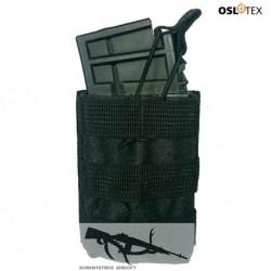 OSLOTEX Portacargador Simple M4/G36 BK