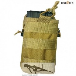 OSLOTEX Portacargador Simple-Doble Coyote
