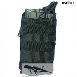 OSLOTEX Portacargador Simple-Doble BK