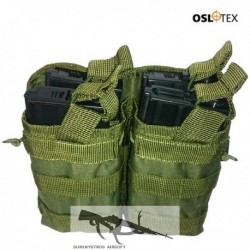 OSLOTEX Portacargador Doble-Doble M4/M16 OD