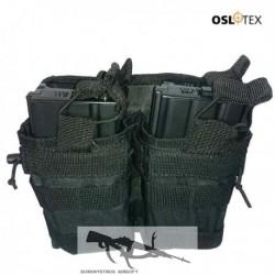 OSLOTEX Portacargador Doble-Doble M4/M16 BK