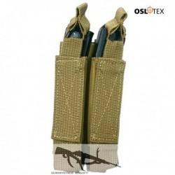 OSLOTEX Portacargador Doble MP5/MP7/MP9 Coyote