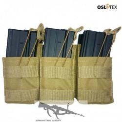 OSLOTEX Pouch Portacargador Sixpack M4 Coyote