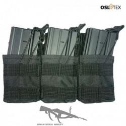 OSLOTEX Pouch Portacargador Sixpack M4 BK