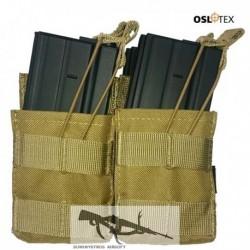 OSLOTEX Pouch Portacargador Fourpack M4 Coyote