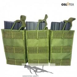 OSLOTEX Pouch Portacargador Triple M4 OD