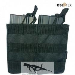 OSLOTEX Pouch Portacargador Doble M4 BK