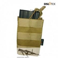 OSLOTEX Pouch Portacargador Simple M4 Coyote