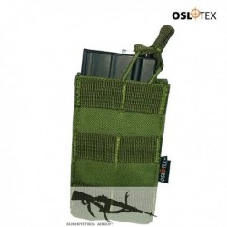 OSLOTEX Pouch Portacargador Simple M4 OD