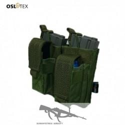 OSLOTEX Pouch Portacargador Doble Kanguro M4 OD