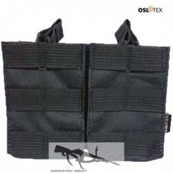 OSLOTEX Portacargador Doble M14 BK
