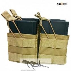 OSLOTEX Pouch Portacargador Fourpack M14 - SR25 Coyote