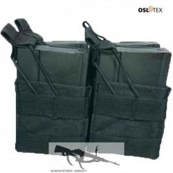 OSLOTEX Pouch Portacargador Fourpack M14 - SR25 BK