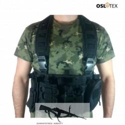 OSLOTEX Chest Rig de Asalto Rápido Avanzado BK