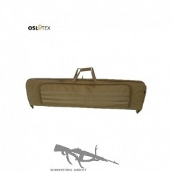 OSLOTEX Funda Doble 105 cm Con Molle, Coyote