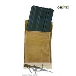 OSLOTEX Pouch Portacargador Simple Elástico M4 Coyote