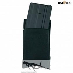 OSLOTEX Pouch Portacargador Simple Elástico M4 BK