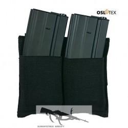 OSLOTEX Pouch Portacargador Doble Elástico M4/M16 BK