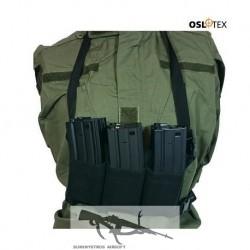 OSLOTEX Pouch Portacargador Elástico Six Pack M4/M16 BK