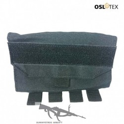 OSLOTEX Portacargador de 6 Cartuchos de Escopeta BK