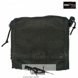OSLOTEX Bolsa de Reciclaje Recogible en Forma de Pouch BK