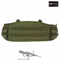 OSLOTEX Cinturón de Combate Molle Talla XL con Doble Tapa Levantable OD