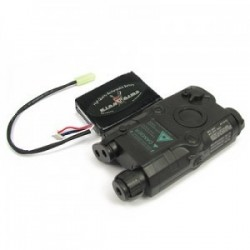 KING ARMS AN/PEQ-15 Battery Case - BK w/11.1V 1300mAh