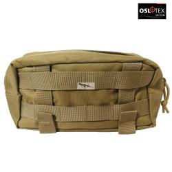 OSLOTEX Pouch Bolsa Portaaccesorios Lateral Coyote