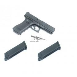 KJW Glock 17 METAL 2 CARGADORES GAS
