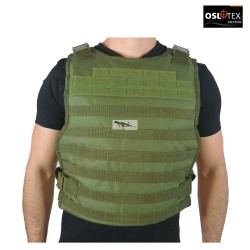OSLOTEX Plate Carrier de Asalto Táctico Simple OD