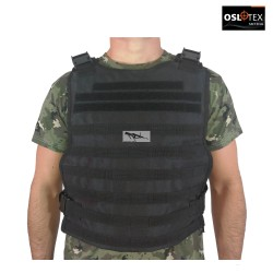 OSLOTEX Plate Carrier de Asalto Táctico Simple BK