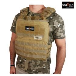 OSLOTEX Chaleco Tactical-Cross Coyote 1000D