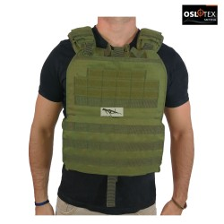 OSLOTEX Chaleco Tactical-Cross OD 1000D