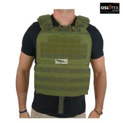 OSLOTEX Chaleco Tactical-Cross OD 1000D