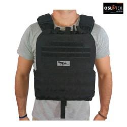 OSLOTEX Chaleco Tactical-Cross BK 1000D