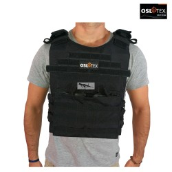 OSLOTEX Chaleco Tactical Warrior BK 1000D