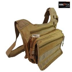 OSLOTEX Morral Táctico Militar Coyote 1000D