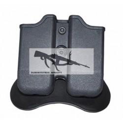 Portacargador rigida alta resistencia para Glock17/19/23/32 CY-MP-G3 BK USP 45 USP COMPAC