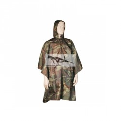 PONCHO WOODLAND RIP-STOP
