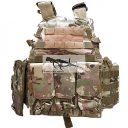 Chaleco táctico estilo 6094 ECO version multicam