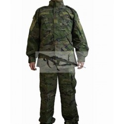 uniforme boscoso pixelado español mas chambergo