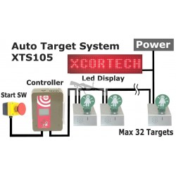 DIANA Xcortech XTS-105 3 Targets Kit