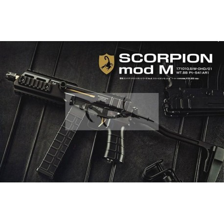 tokyo marui scorpion mod.m smg aep